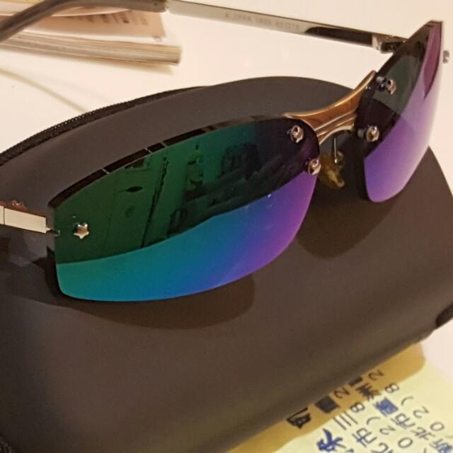 水銀片抗藍光太陽眼鏡