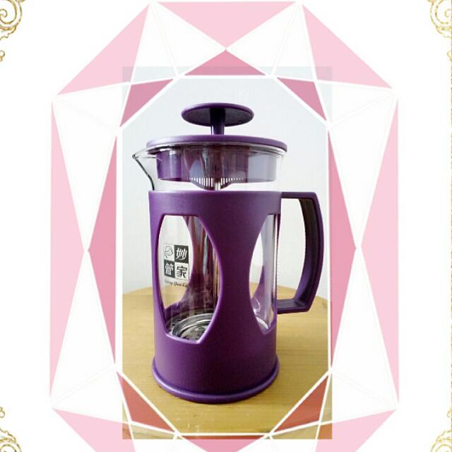 全新妙管家高質沖茶器(紫色) 居家辦公室必備