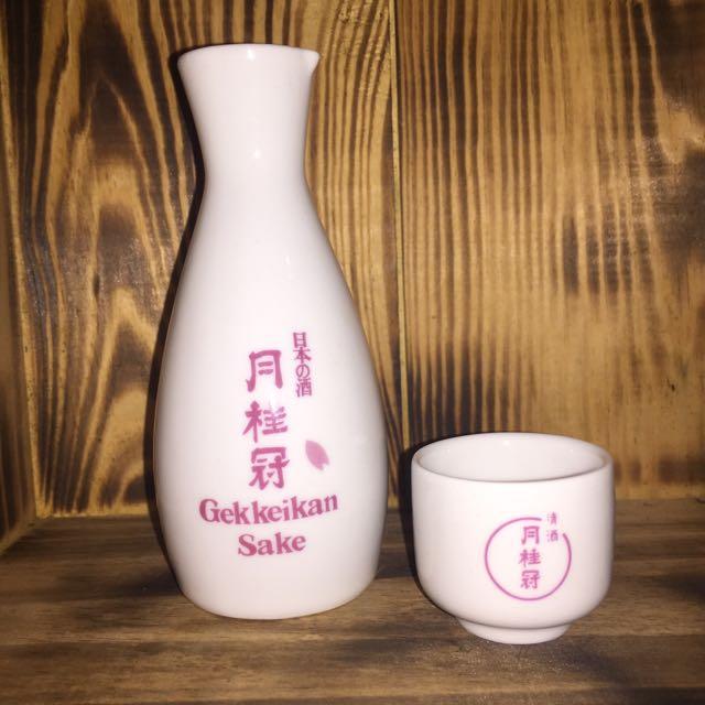 清酒 杯+壺 🍶