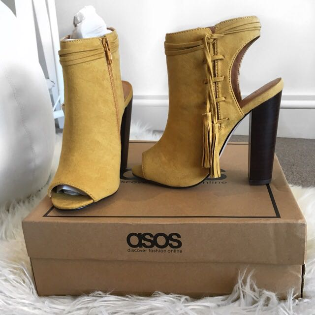 Asos Tassel Lace up Show Boot