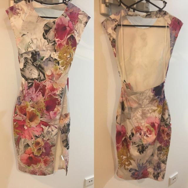 Brand New Kuku 'Bloom' Dress Backless