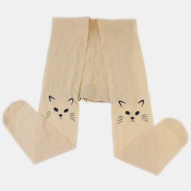 Cat Face Stockings