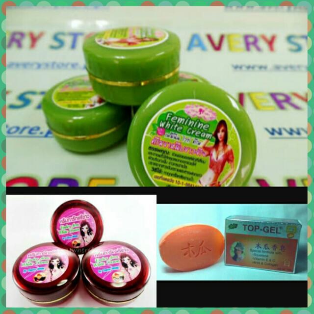 Cherry White Cream And Soft Gel Soap
