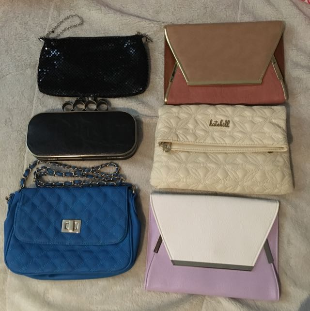 Clutches And Shoulder Bags