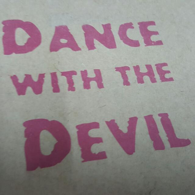 DANCE WITH THE DEVIL 楔型鞋 18號