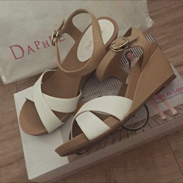 DAPHNE達芬妮楔型涼鞋