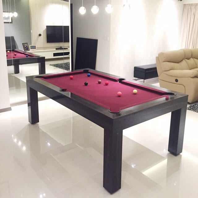 Dining Pool Table Tennis Table Holiday Table Display Unit - Table tennis and billiards table