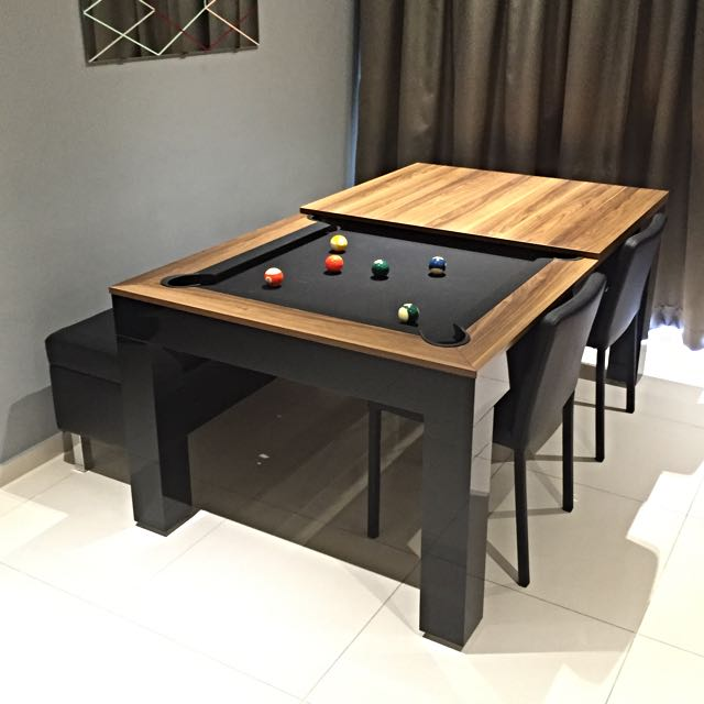 Dining + Pool + Table Tennis Table   Holiday Table ( Display Unit), Home U0026  Furniture, Furniture, Tables U0026 Chairs On Carousell