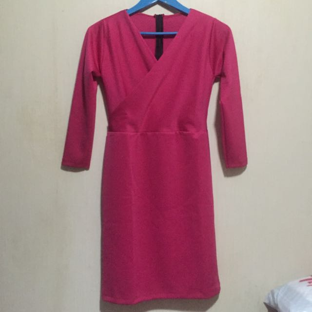 Dress Coral Pink (no Brand)