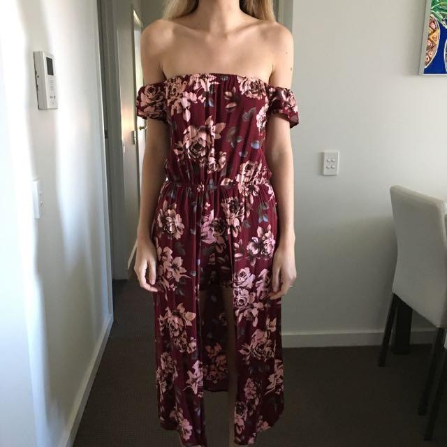 Floral Maxi Play suit