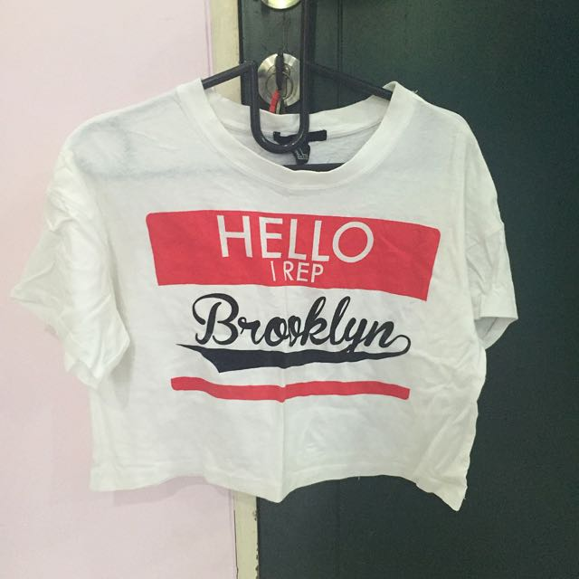 Forever 21 Crop Top Brooklyn