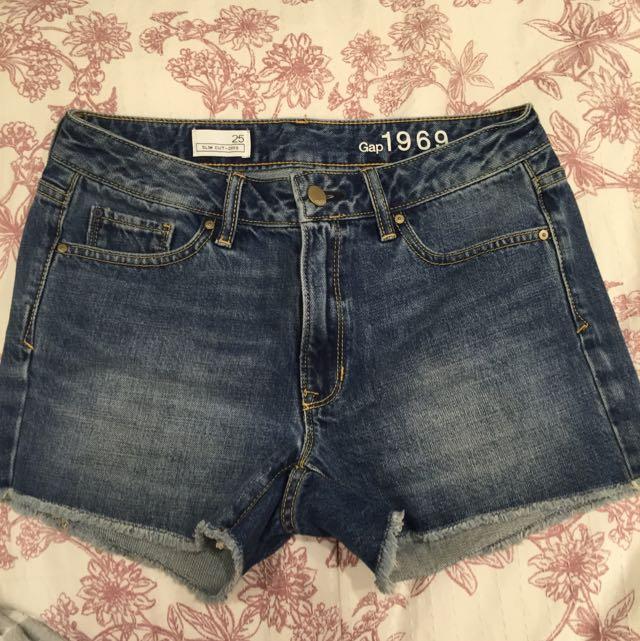 GAP Blue Denim Shorts