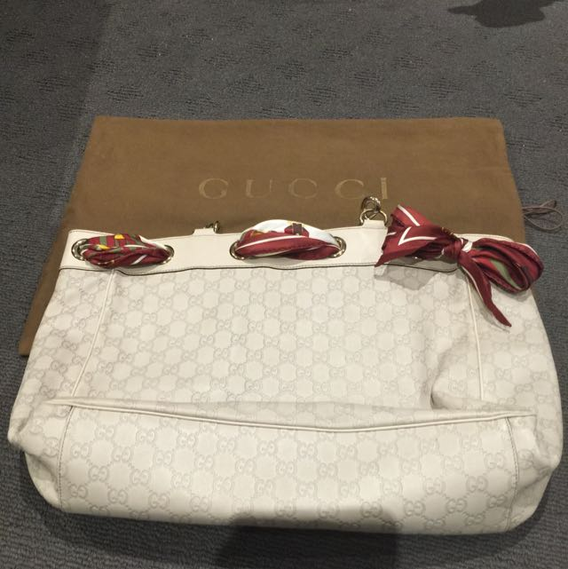 ***Reduced For Quick Sale**Gucci Large Positano Leather Tote