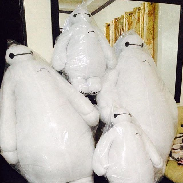 Huggable Baymax Stuffed Toy