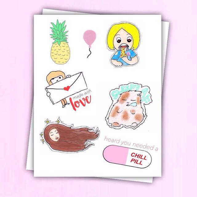 Kawaii Planner Stickers