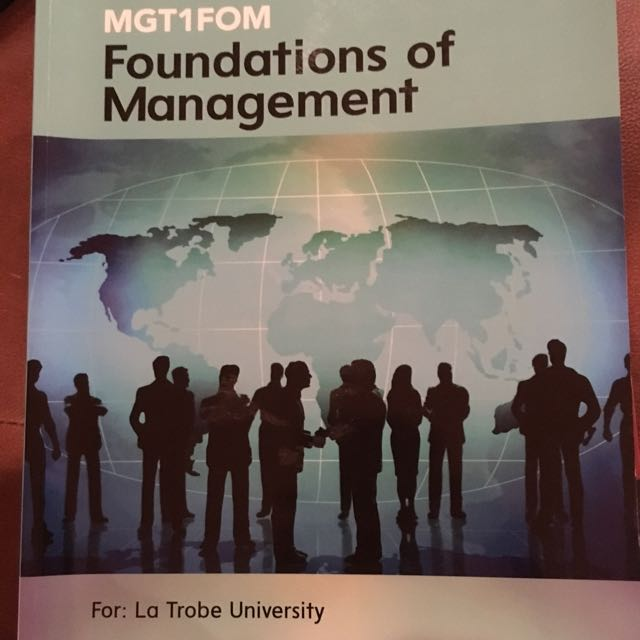 La Trobe Foundations Of Management Textbook