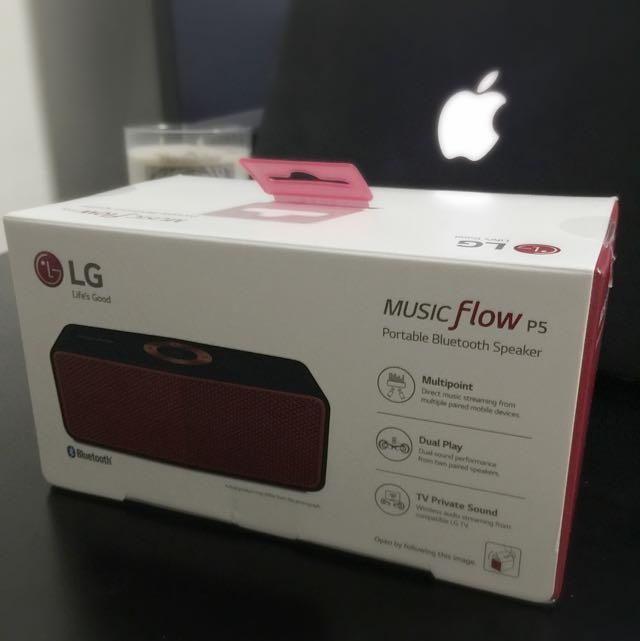 LG Music Flow P5 Speaker