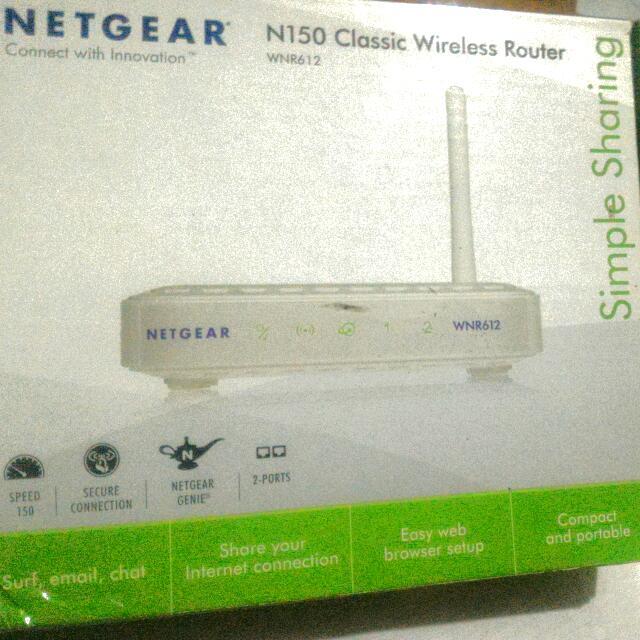 Netgear N150 Classic WirelessRouter