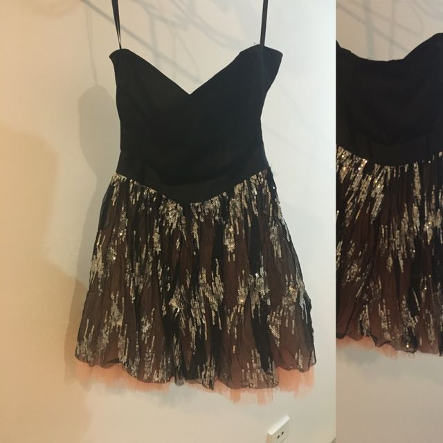 Never Worn Milk And Honey Party Dress