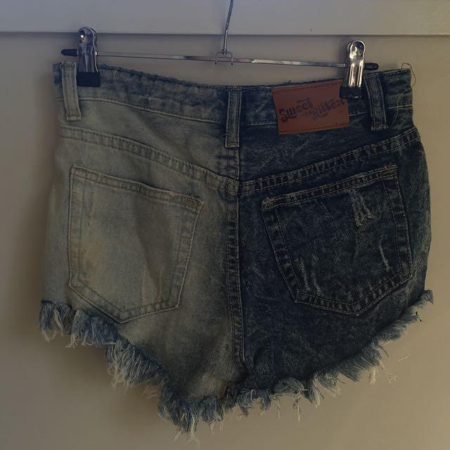 New!! Denim Shorts