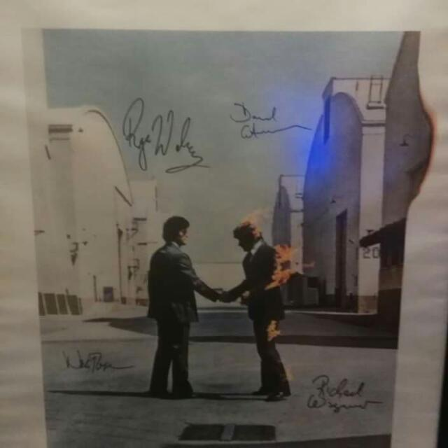 Pink Floyd Signed Poster