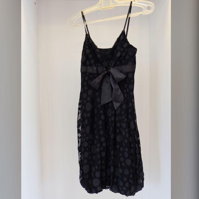 Polkadot Little Black Dress (LBD)