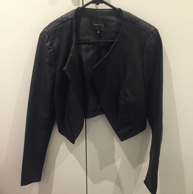 Portmans Faux Leather Jacket