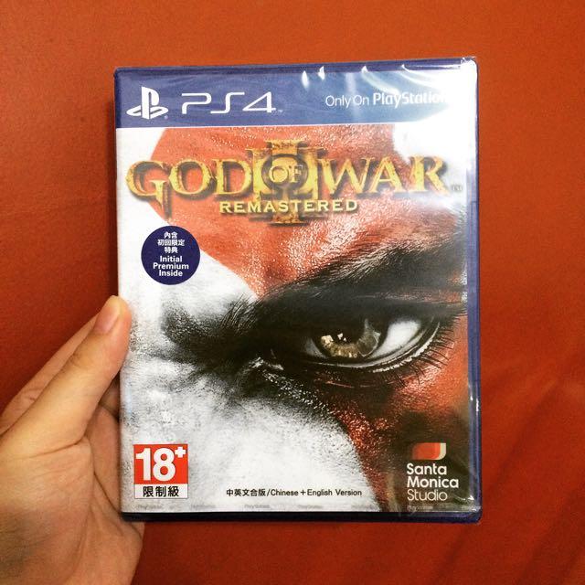 PS4 戰神3 強化版 中文版 GOD OF WAR 3