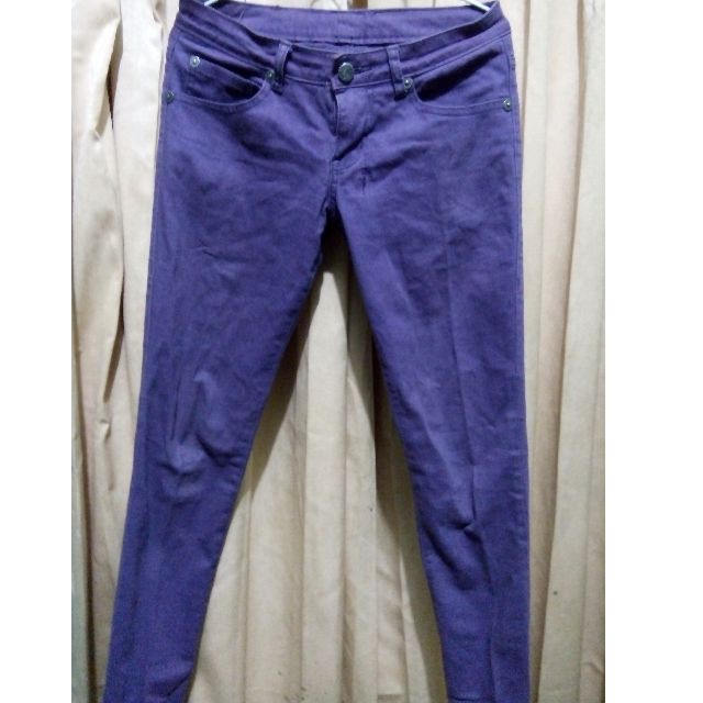 Luna Maya Purple jeans