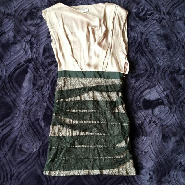 Rose Silk Type Formal Dress