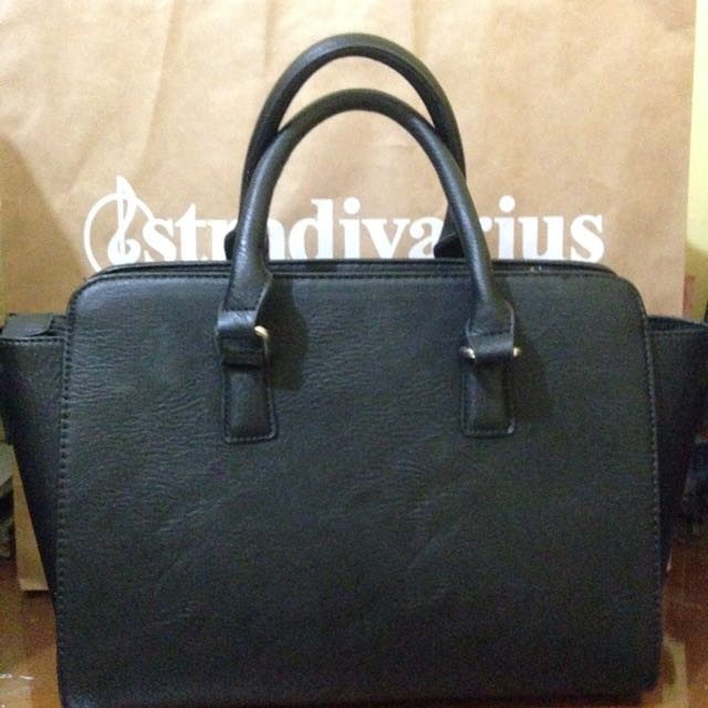 Structured Bag by Stradivarius