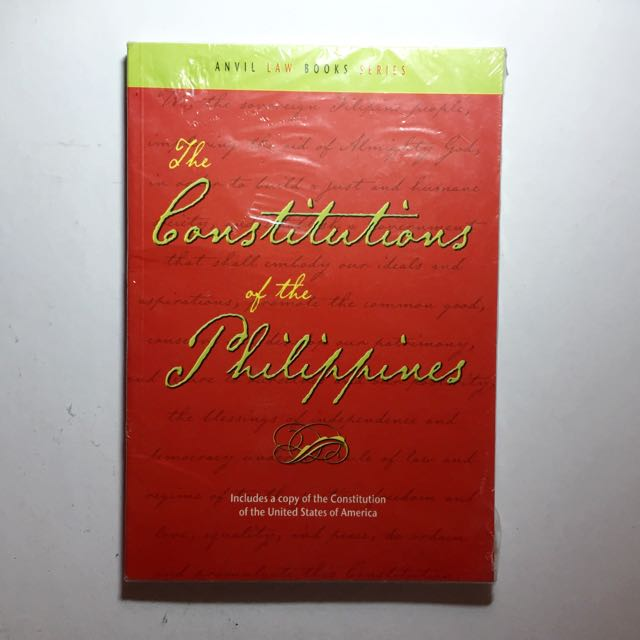 The Constitutions Of The Philippines