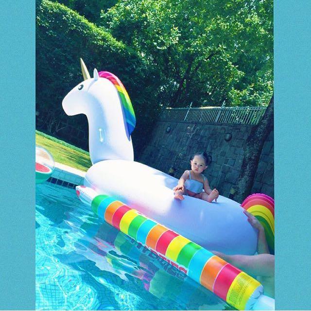 Unicorn獨角獸游泳圈
