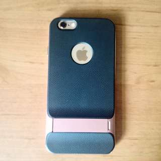 IPhone 6/6s 防摔時尚粉手機殼(可立)