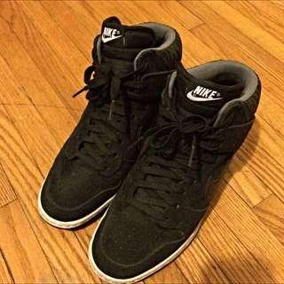"""Nike """"Dunk Sky Hi"""" Wedge Sneaker"""