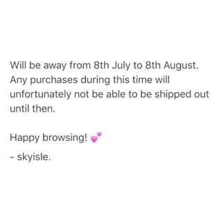 skyisle - closed dates