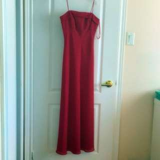 Simple Evening Dress