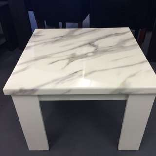 Marble Top Lamp Table