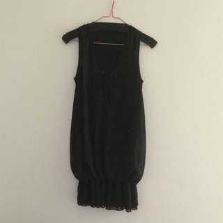 Dress/ Tunic - Black