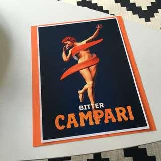 A4 Campari Print