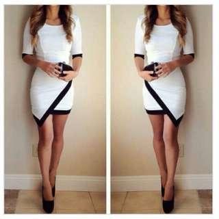 White Club Dress