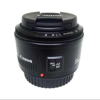 BN Canon 55mm f1.8 II Lense