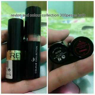 Lippies revlon and colours