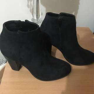 Ankle Heeled Boots