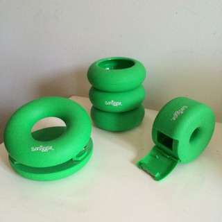 Green Smiggle Desk Organising Set