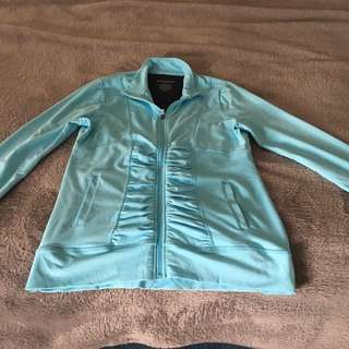 Baby Blue Workout Jacket