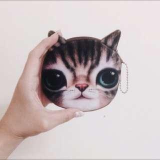 全新貓貓零錢包