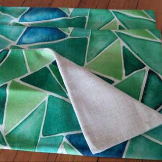 3 X NEW 100% Linen Cushion Covers...NEW!!!