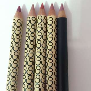 Gorgeous Cosmetic Lip Pencil (5 Pack)