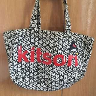 Kitson X Kitty 帆布包